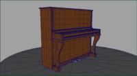 piano 2013 3d obj