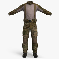 3ds max combat apparel -