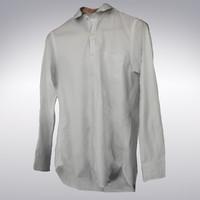 3d model men s white shirt