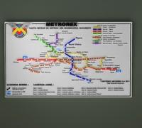 metrorex bucharest lines 3d max