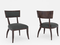 lexington dining chair 3d model