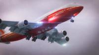 boeing 747-8 3d max