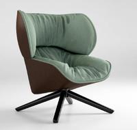 3ds max b italia armchair