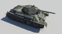 Tank T-34 76
