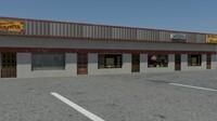 3d model misc shops
