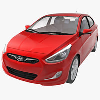 Car Hyundai Accent 2014