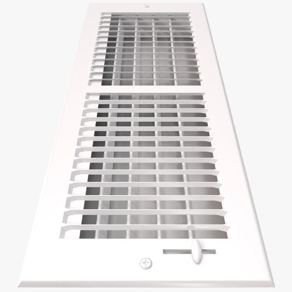 Home Air Vent grate ventilation ac condition furnace interior decor accessory decorative decoration design vray