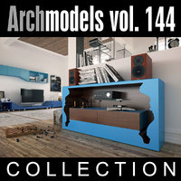 3d model of archmodels vol 144