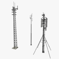 games antenna 3d obj