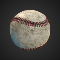 3ds max baseball ball