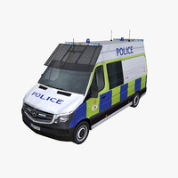Mercedes Sprinter 2014 UK Police