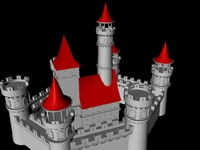 cinema4d castle