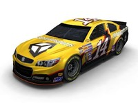3d model of car 2015 nascar chevy