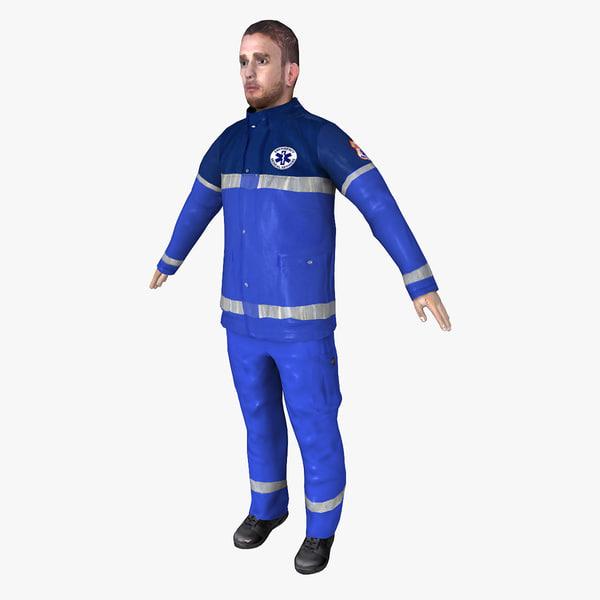 3d paramedic ready model