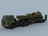 kamaz-65225 2s3 combo 3d lwo