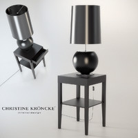 3d model of petit lamp christine kroncke