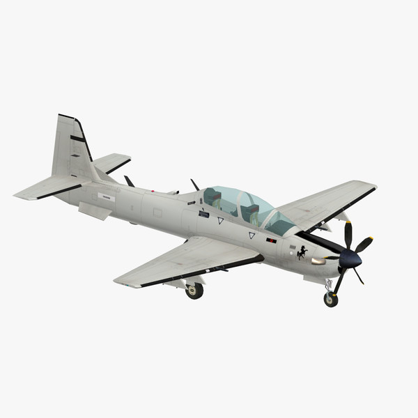 3d embraer emb 314 super model