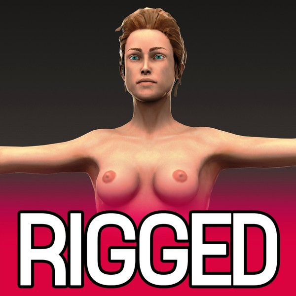 realistic rigged female x