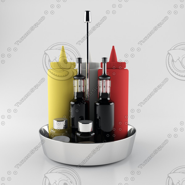 3ds max dining table housewares set