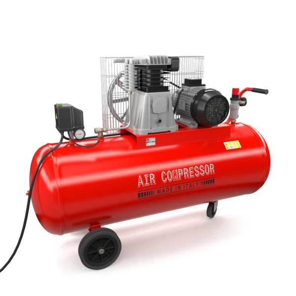 air compressor obj