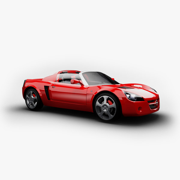 speedster cabrio cabriolet 3d ma
