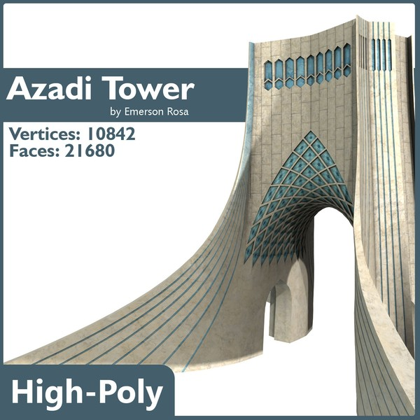 obj azadi tower