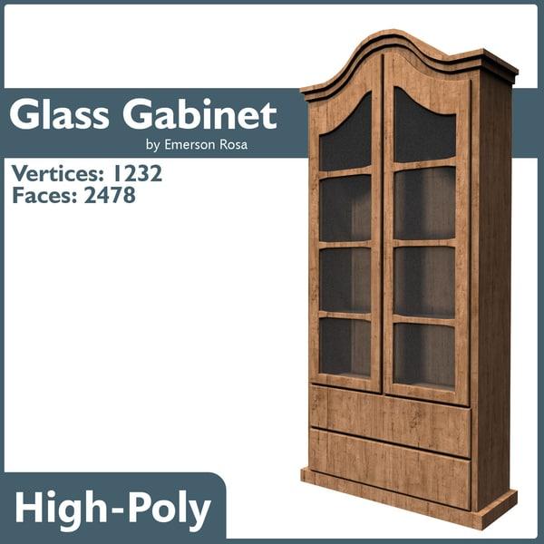 maya vintage glass cabinet