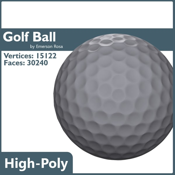golf ball obj free