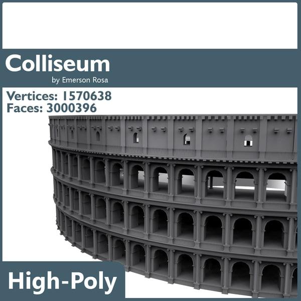 3d coliseum