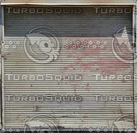 Exterior - Metal Garage Door.JPG