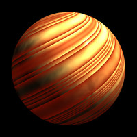 scifi orange yellow striped shader AA14413.TAR