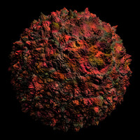 scifi red brown bumpy rough shader AA14429.TAR
