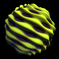 scifi yellow twisted smooth shader AA14853.TAR