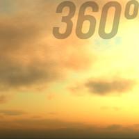 360° Sky Texture: Morning