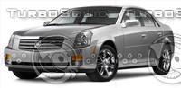 Cadillac CTS.psd