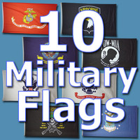 10 Military Flags.zip