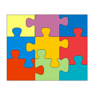 Pics Photos - Piece Jigsaw Puzzle Template 9 Piece Jigsaw Puzzle ...