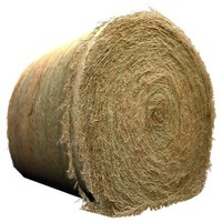 Hay Round Bale - texture High Resolution