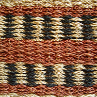knitted mat fragment (macro)