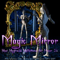 Magic Mirror - Real Raytraced Reflections for Poser 5