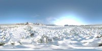 HDRI Panorama Vol-1_snowfield1