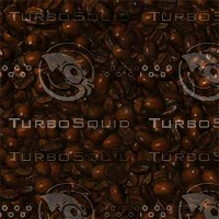 Endless Coffee Bean Tile Texure