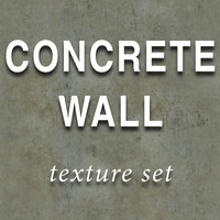 concrete wall set_psd.zip