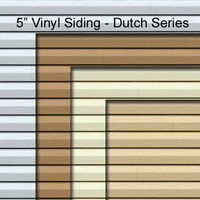 5in Dutch Vinyl Siding Series