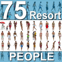 75 Beach / Resort People