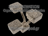3poD Animation - Organic Material Library