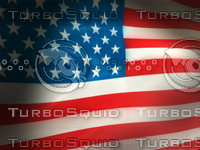 United States Flag animation (NTSC)