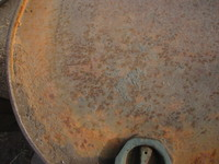 Rusty Barrel Metal - Original