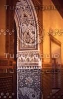 Morocco 078 Bahia Palace carved plaster.jpg