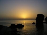 Sunset in Akko